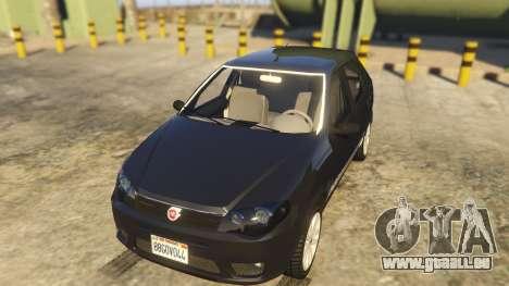 Fiat Palio Way Brasil 2015 pour GTA 5