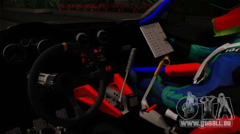 Audi RS3 Sportback Rally WRC für GTA San Andreas Innenansicht