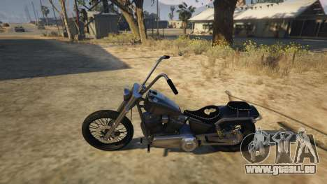 GTA 5 Daemon SOA Harley-Davidson hinten rechts