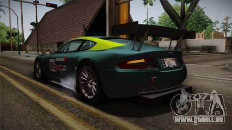 Aston Martin Racing DBRS9 GT3 2006 v1.0.6 YCH v2 für GTA San Andreas Räder