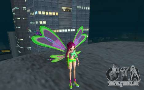 Fairy Roxy from Winx Club Rockstars für GTA San Andreas