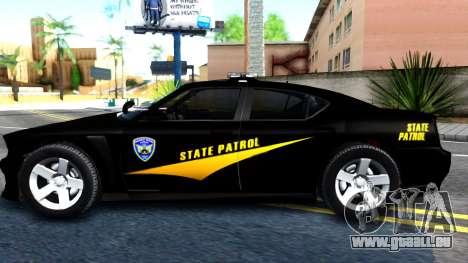 Bravado Buffalo State Patrol 2013 pour GTA San Andreas laissé vue