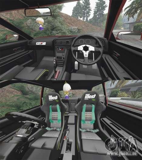 GTA 5 Toyota Chaser (JZX100) cambered [add-on] vorne rechts Seitenansicht