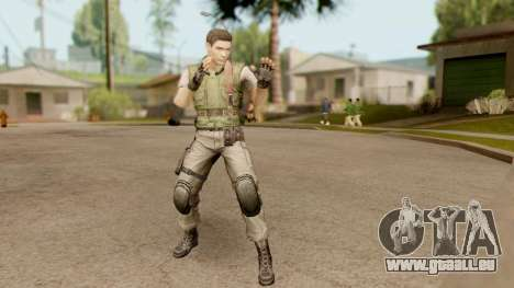 Resident Evil HD - Chris Redfield S.T.A.R.S für GTA San Andreas