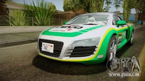 Audi R8 Coupe 4.2 FSI quattro EU-Spec 2008 für GTA San Andreas Motor
