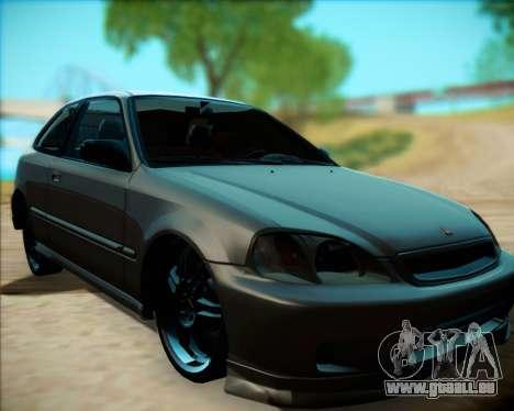 Honda Civic Hatchback pour GTA San Andreas