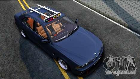 BMW e39 530d pour GTA San Andreas vue de droite