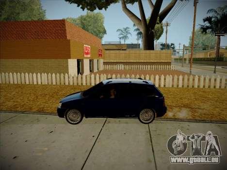 VAZ Kalina 1117 Carélie Édition pour GTA San Andreas vue intérieure