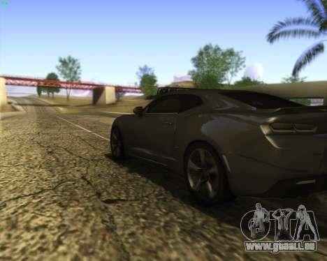 Chevrolet Camaro SS Xtreme für GTA San Andreas Seitenansicht