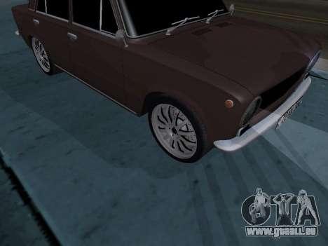 VAZ 2101 arménien pour GTA San Andreas vue arrière