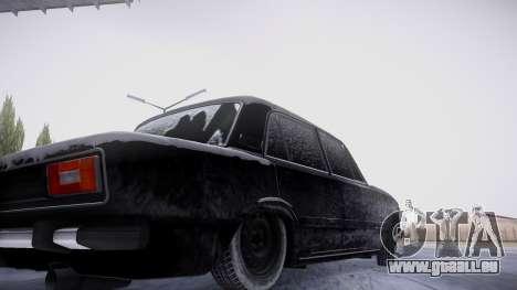 VAZ 2106 winter-version für GTA San Andreas Innenansicht