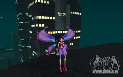 Musa Believix from Winx Club Rockstars für GTA San Andreas