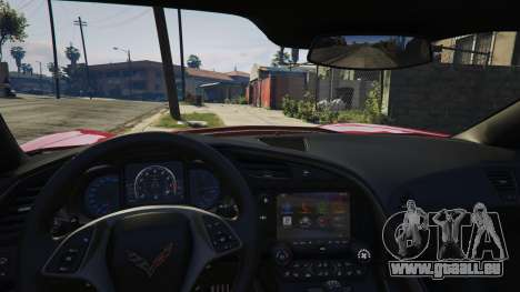 2014 Chevrolet Corvette C7 Stingray pour GTA 5
