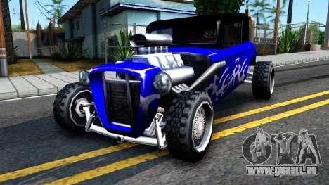 Duke Blue Hotknife Race Car pour GTA San Andreas