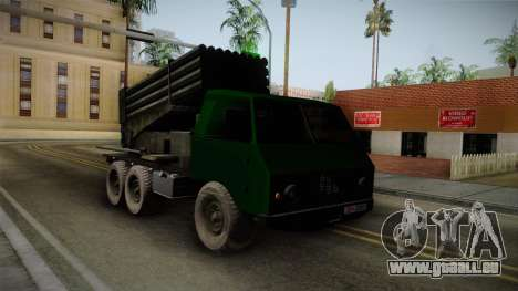 TAM 110 Serbian Military Vehicle pour GTA San Andreas