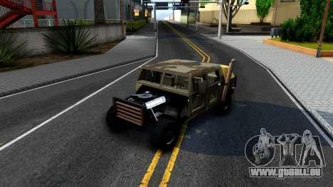 New Patriot GTA V für GTA San Andreas Innenansicht