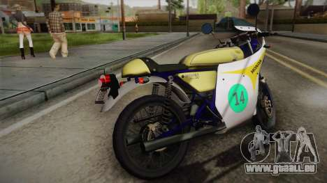 Honda Dream (RC142) 1988 für GTA San Andreas linke Ansicht