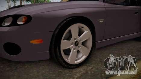 Pontiac GTO Hot Wheels NASCAR PJ pour GTA San Andreas vue arrière