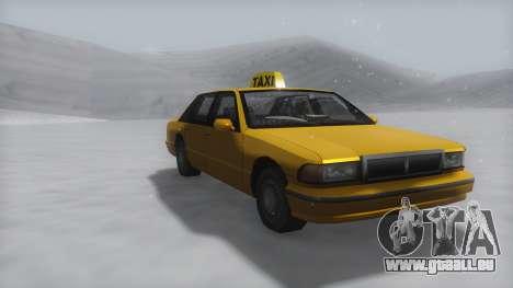 Taxi Winter IVF pour GTA San Andreas