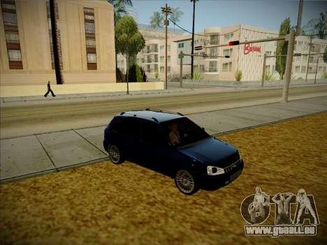 VAZ Kalina 1117 Carélie Édition pour GTA San Andreas vue de droite