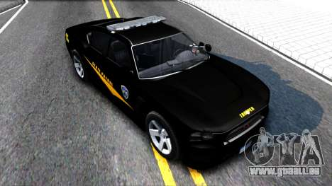 Bravado Buffalo State Patrol 2013 pour GTA San Andreas vue de droite