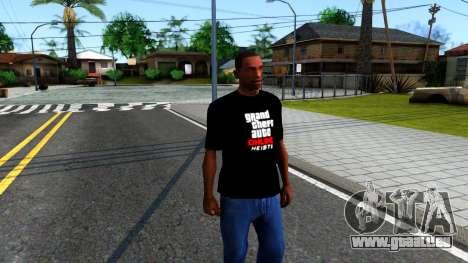 GTA Online T-Shirt pour GTA San Andreas deuxième écran