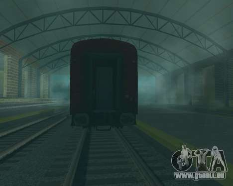 Fach Auto-Donezk-Moskau für GTA San Andreas zurück linke Ansicht
