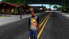 Regular Show T-shirt pour GTA San Andreas