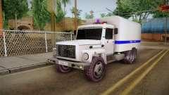 GAZ 3309 Polizei für GTA San Andreas