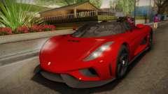 Koenigsegg Regera 2016 für GTA San Andreas