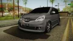 Nissan Grand Livina Highway Star pour GTA San Andreas