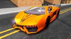 GTA V Pegassi Lampo Roadster