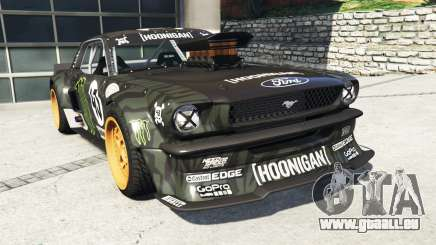 Ford Mustang 1965 Hoonicorn v1.1 [replace] pour GTA 5