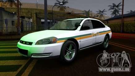 2008 Chevrolet Impala LTZ County Sheriff pour GTA San Andreas