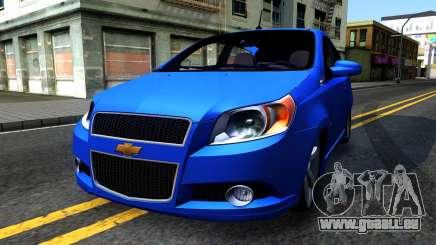 Chevrolet Aveo 2012 pour GTA San Andreas