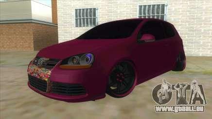 Volkswagen Golf MK pour GTA San Andreas