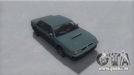 Sultan Winter IVF pour GTA San Andreas