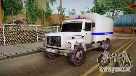 GAZ 3309 de la Police pour GTA San Andreas