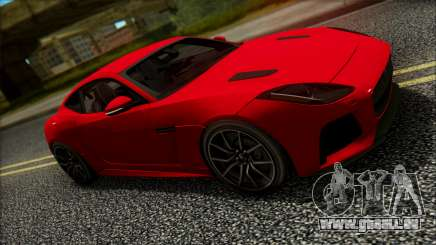 Jaguar F-Type SVR 2016 für GTA San Andreas