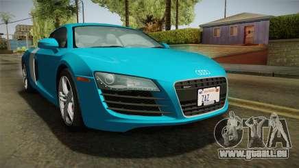Audi R8 Coupe 4.2 FSI quattro US-Spec v1.0.0 v2 für GTA San Andreas