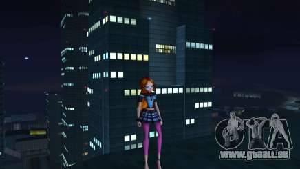 Bloom Rock Outfit from Winx Club Rockstar für GTA San Andreas