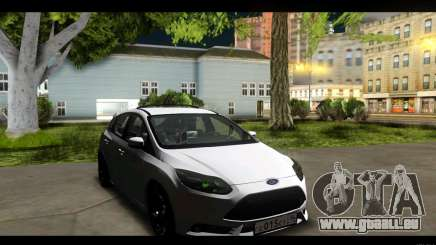 Ford Focus ST 2013 Formation pour GTA San Andreas