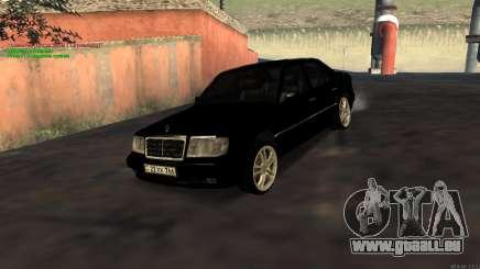 Mercedes-Benz W124 E500 Armenian pour GTA San Andreas