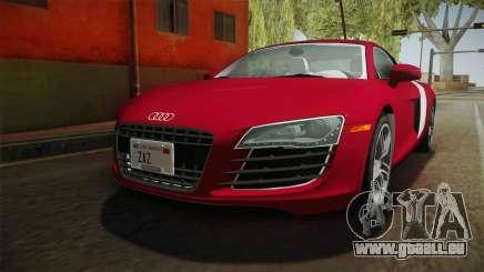 Audi R8 Coupe 4.2 FSI quattro US-Spec v1.0.0 YCH für GTA San Andreas