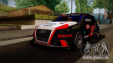 Audi RS3 Sportback Rally WRC für GTA San Andreas