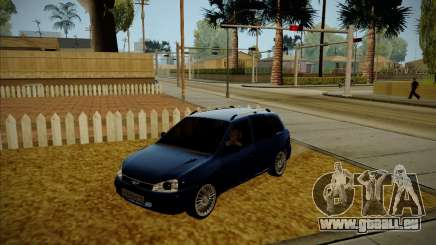 VAZ Kalina 1117 karelischen Edition für GTA San Andreas