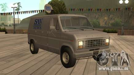 Ford E150 News Van pour GTA San Andreas