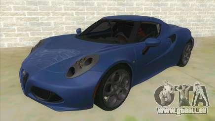 Alfa Romeo 4C pour GTA San Andreas