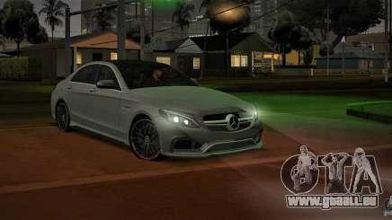 Mercedes-Benz C63 AMG W205 für GTA San Andreas