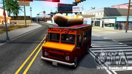 New HotDog Van pour GTA San Andreas